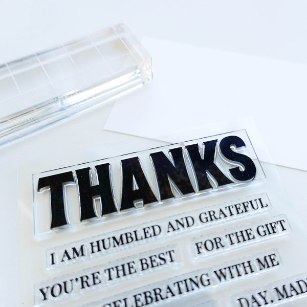Sincere Thanks Stamp Set prodct